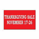 Thanksgiving Sale Black Friday Custom Corrugated Car Door Magnet Sign-QTY 2