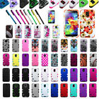 Stylish TUFF Hybrid Phone Hard Case Cover For SAMSUNG Galaxy S5+Protector+Pen