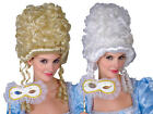 Marie Antoinette Wig Ladies Fancy Dress Masquerade French Costume Accessory Wig