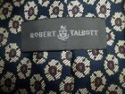 MEN'S ROBERT TALBOTT NECK TIE FLORAL  PATTERN SILK, MADE IN THE USA. FREE SHIP