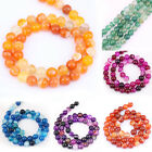 Wholesale Natural Gemstone Round Spacer Loose Beads Jewelry Making 4/6/8/10/12MM