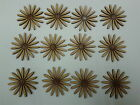 12 Laser Cut Wooden Daisy Flower Shapes 50mm 3mm MDF Crafts Embelishments