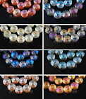 New 10pcs14mm Polish Rondelle Faceted Crystal Glass Loose Spacer Beads Free Ship