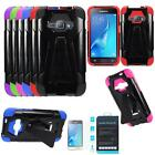 Phone Case For Samsung Galaxy Express 3 4g LTE Cover Tempered Glass Screen