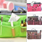 New Portable Makeup Cosmetic Toiletry Bag HandBag Double Zipper Large Capacity