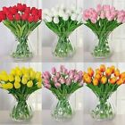 1pc Artificial Tulips Flower Home Dining Room Wedding Table Decor Red Pink White