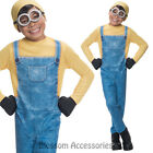 CK665 Despicable Me Boys Minion Bob Party Fancy Dress Up Costume Kids Book Week
