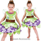CK668 Tinkerbell Pirate Fairy Disney Fairytale Girls Costume Book Week + Wings