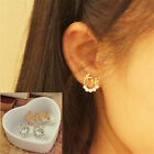 "1pair Letter ""Love""Crystal Ear Stud Earrings Women Mini Ear Stud Fashion Jewelry"