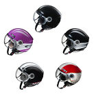 Adult Fulmer Motorcycle Helmet Open Face Helmet DOT/ECE Approved Urban Pilot U10