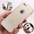 2 in 1 Aluminum Metal Frame Back Bumper Case Cover For iPhone 6s & 6s Plus