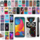 For Samsung Galaxy S5 Sport G860 TPU SILICONE Soft Protective Case Cover + Pen