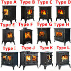Multifuel Woodburner Stove Wood Burning Log Burner Modern Fire Fireplace New