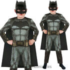 CK675 Batman vs Superman Dawn of Justice Deluxe Batman Boys Fancy Dress Costume