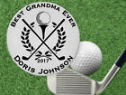 Golfing Grandma Gift! BEST Grandma Golf Ball Marker, Personalized FREE
