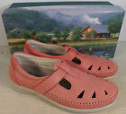 SAS ROAMER CORAL WOMEN'S PINK CORAL LEATHER LOAFER SHOES ...
