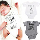 Hot Newborn Baby Boys Girls Cotton Bodysuit Romper Jumpsuit Outfit Clothes NEW