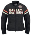 Harley-Davidson® Women's Miss Enthusiast Functional Jacket, Black 98228-12VW