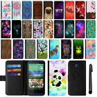 For HTC Desire 510 Magnetic Flip Wallet Leather POUCH Case Phone Cover + Pen