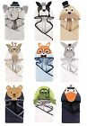 "HUDSON BABY BOYS ANIMAL HOODED TOWEL 33"" x 33""  100% COTTON BABY SHOWER"