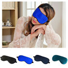 100% Pure Mulberry Silk Sleep Sleeping eyewear Mask travel Adjustable Strap