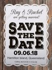 Personalised White Vintage Lace Wedding Save the Date Cards with Envelopes