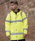 Mens Warrior Nevada Hi-Vis Jacket