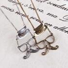 Fashion necklace jewelry new hat beard glasse alloy Pendant chain free shipping
