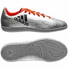 adidas X 16.3 TRX IN Indoor  2016 Soccer Shoes Silver / Orange Kids - Youth