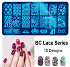 Fashion 10Design Nail Art Image Stamp Stamping Plate Manicure Template DIY Hot