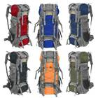 60L Camping Travel Rucksack Waterproof Backpack Climbing Hiking Bag New 8 Colors