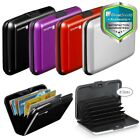 RFID Aluminum AntiTheft Minimalist ID Credit Card Holder Wallet Lock Case 8 Slot image