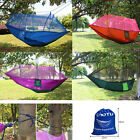 Portable 2 person Mosquito Net Hammock Hanging Bed for Travel Camping Outdoor