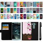For LG V10 H900 VS990 H901 H968 H961N Flip Wallet Leather POUCH Case Cover + Pen