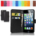 Top Sale PU Leather Wallet Flip Phone Case Cover For iPhone Samsung LG