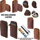 For HTC Desire 816 Slim Sleeve Genuine Real Leather POUCH Case Cover + Pen