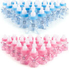 Candy Box Baby Shower Bottle Party Favours Gift Crystal Bear Blue/Pink