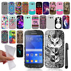 For Samsung Galaxy Ace 4 LTE G357 TPU SILICONE Rubber Case Phone Cover + Pen