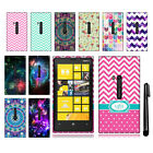 For Nokia Lumia 920 TPU SILICONE Rubber SKIN Soft Case Phone Cover + Pen