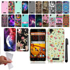 For ZTE Max N9520 Design TPU SILICONE Rubber SKIN Soft Case Phone Cover + Pen