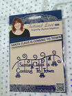 Tattered Lace Die - SANTA CLAUS IS COMING TO TOWN (D0919) - Christmas festive