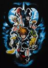 Disney Kingdom Hearts Game Flip Black Color Licensed T-Shirt