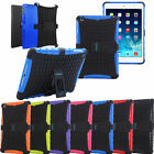 TKF Shock Proof Case Heavy Duty Tough Case Cover w/ Stand for Apple ipads TABLET