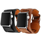 For Apple Watch iWatch 38mm/42mm Genuine Leather Strap Bracelet Watchband New