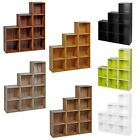 1, 2, 3, 4 Tier Wooden Bookcase Shelving Display Storage Wood Shelf Shelves Unit