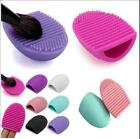 Makeup Brush Cleaner Glove Egg Scrubber Cosmetic Cleaning Silicone Foundation SA