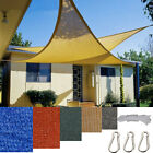 9.8'x9.8' x9.8' Triangle Sun Shade Sail Fabric Outdoor Canopy Patio Awning Cover