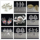 New Fashion Charm Tibetan Silver Beads For Bracelet Earrings Necklace 10Pcs