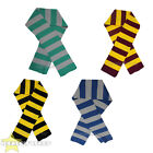 STRIPED SCARF KNITTED WINTER ACCESSORY VARIOUS COLOURED UNISEX  SCARVES