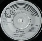 """Bay City Rollers Remember (16545) 7"""" Single 1973 Bell Records BELL 1338"""